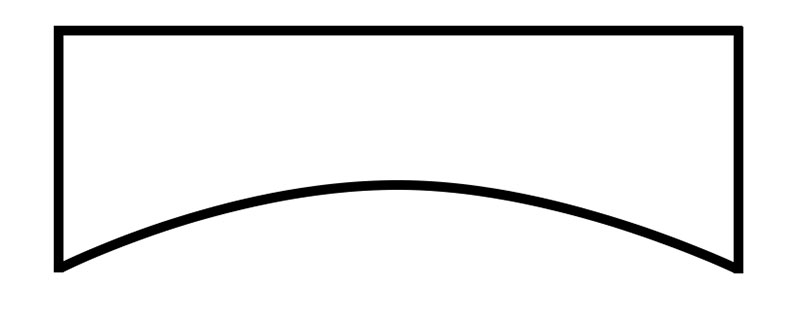 Cornice Style: Skirted Arch #3