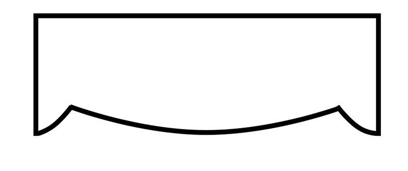 Cornice Style: Scalloped #8