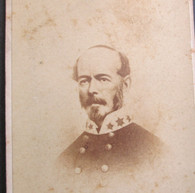 CDV Photograph of Confederate General Joseph Johnston (SOLD)