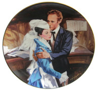 "Numbered ""Gone With the Wind"" collector plate ""A Question of Honor"""