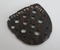 Boot/Brogan Heel Plate from Jonesboro Battlefield, GA