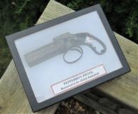 Rare! Pepperbox revolver w/one round, dug Shiloh