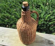 Rare! Civil War Small-size Rattan Wine jug
