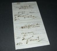 "Confederate Alabama War-Tax receipts, ""1863"""