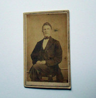 CDV Photograph of Ohio Doctor with Civil War Stamp
