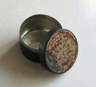 19th Century Ointment Container (SOLD)