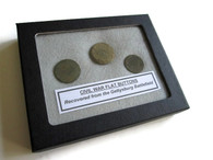 Buttons recovered from the Gettysburg Battlefield