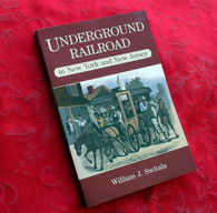 "Book, ""Underground Railroad"" in New York and New Jersey"