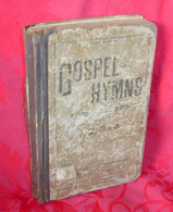 "Book ""Gospel Hymns"", dated 1886"