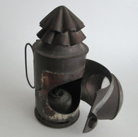 Civil War Signal Lantern, as found in the CSS Hunley