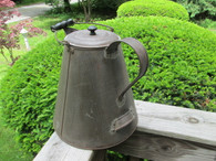 Large Tin Camp Coffee Pot