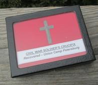 Civil War Soldier's Crucifix - Found Union Camp, Petersburg