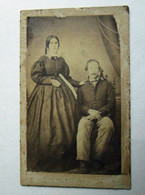 CDV Photograph of Soldier and Wife