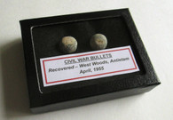 Two bullets from West Woods, Antietam (SOLD)