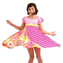 Girls Party Dresses | Twirly & Reversible Fun Everyday | Perfect Gift