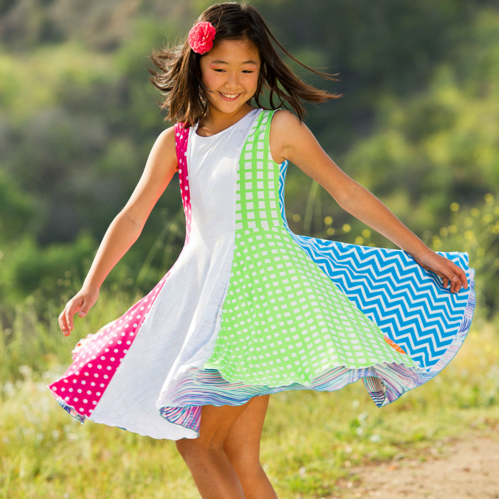 Colorful dresses for girls
