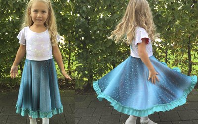 Elsa Dress for Girls By TwirlyGirl®
