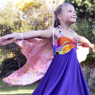 Fabric Butterfly Fairy Wings