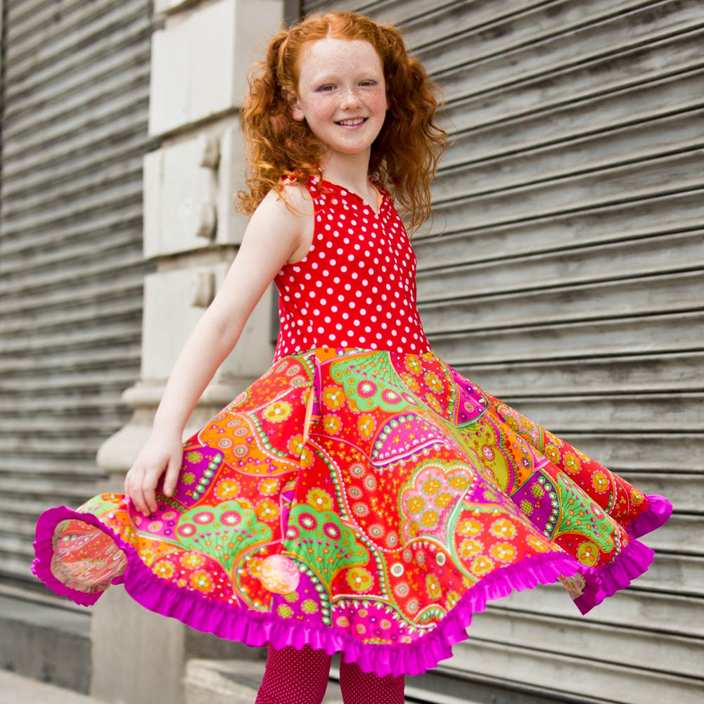 Girls Beach Dresses with Pockets