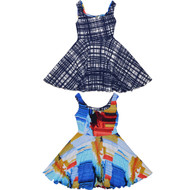 Teen Original Reversible Twirly Dress | Shangri La