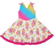 Prancing Pocket Whirly Dress | Friendship Rainbow Land