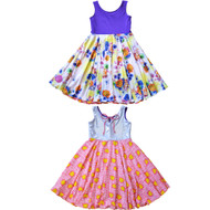 Original Reversible Twirly Dress | Whimsical Gem Princess