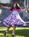 She live in this dress and she will love it, twirling is the expression of pure happiness. NOTE: Model is wearing a different version.
