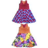Reversible Twirly Racer Dress | Roller Coaster Love