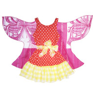 WOW Wings of Wonder Dress | Blazing Sunburst Spark
