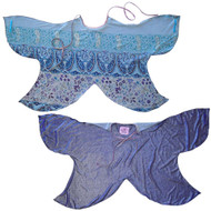 Transform-A-Dress Reversible Fabric Wings | Purple Sparkly Butterfly