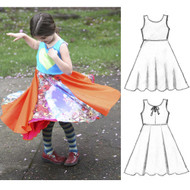 Design Your Own Original Reversible Twirly Dress
