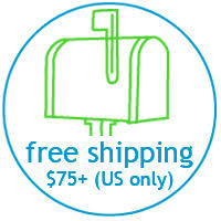 Free Shipping over $75 to the US