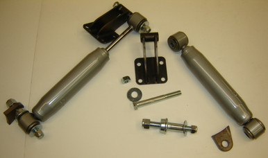 Bolt-on/ Weld-on Front shock kit for dropped or stock axle
