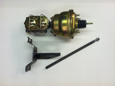 1949-51 Ford car booster and Dual master cylinder conversion kit