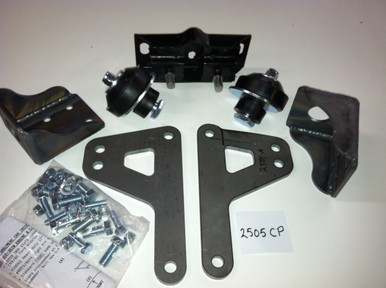 """1952-53 Ford (17"""") and ALL Merc SB Ford Engine transmission mount kit"""