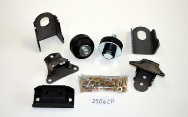 54/56 Ford/Merc Weld-In SB Chevy Engine/Transmission Mount kit 2506CP