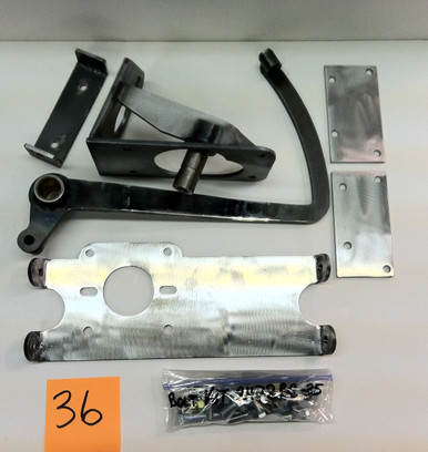 1935-1938 Plymouth/ Dodge bolt-in pedal assembly ONLY