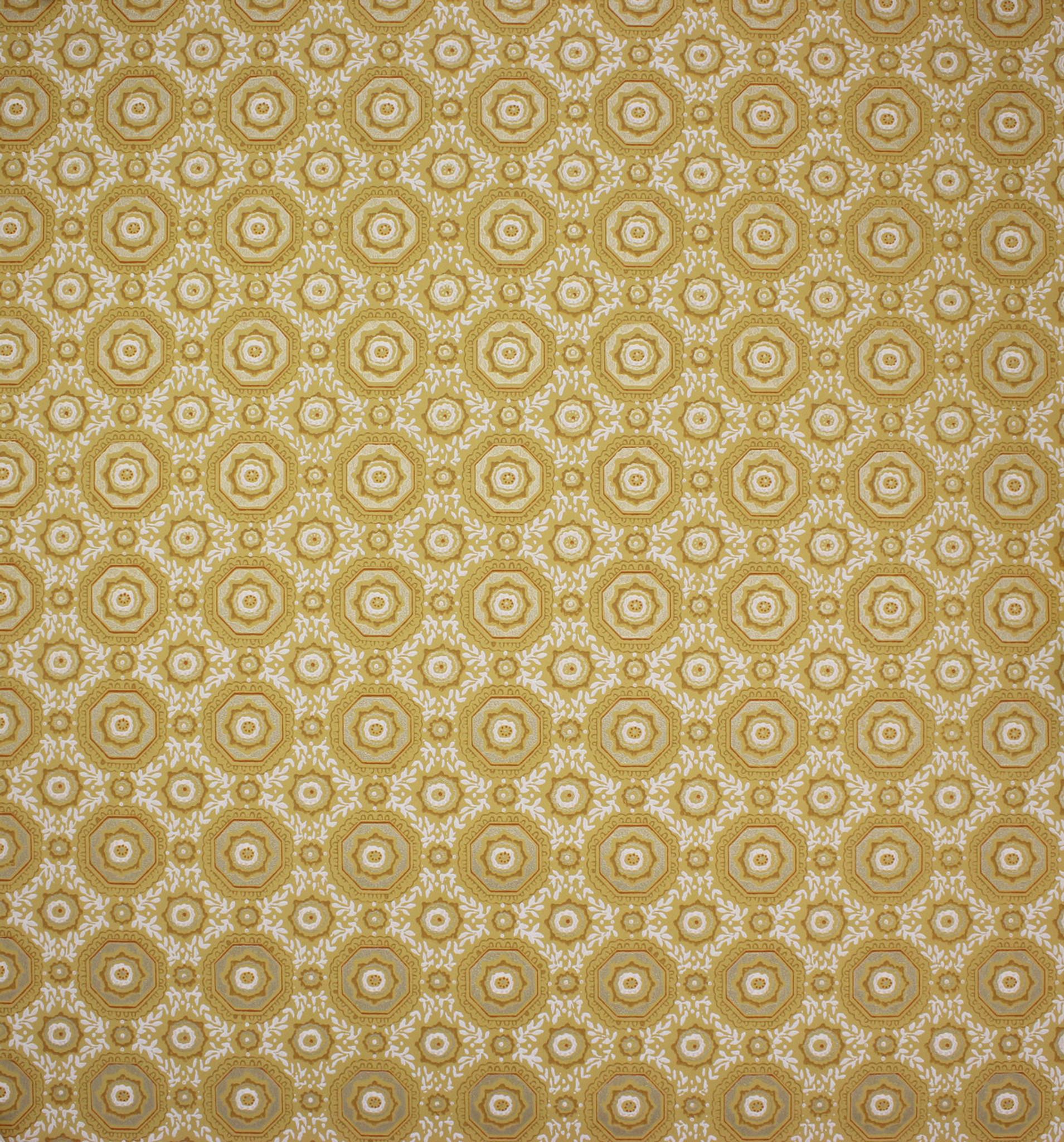 1950s vintage wallpaper white - photo #3
