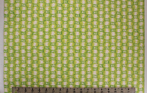 1970s Vintage Wallpaper Bright Green Faux Weave