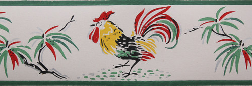 Trimz Vintage Wallpaper Border Bantam