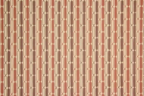 1970s Retro Vintage Wallpaper Brown Beige Geometric