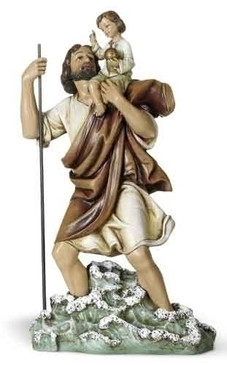 "St. Christopher Statue (14.75"")"