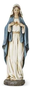 "Immaculate Heart of Mary Statue (14"")"