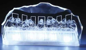 Last Supper LED Lit Acrylic Statue