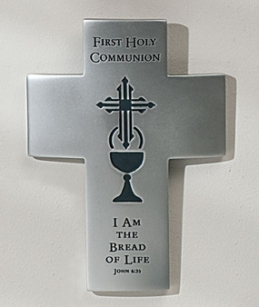 First Holy Communion Reflections of Love Wall Cross
