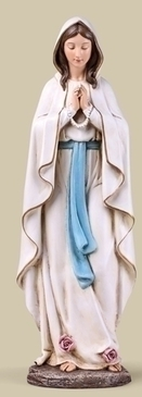 "Our Lady of Lourdes Statue (13.5"")"