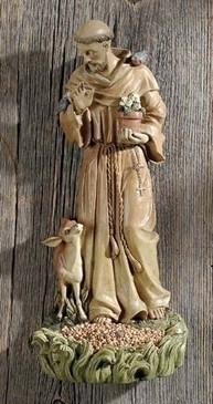 "St. Francis of Assisi Bird Feeder (12"")"