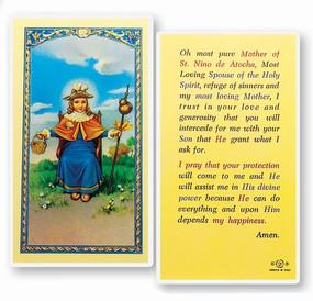 St. Nino of Atocha Laminated Holy Card