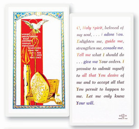 Holy Spirit Confirmation Laminated Holy Card