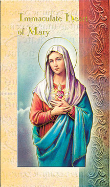 Immaculate Heart of Mary Biography Card